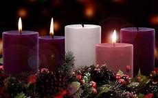 candles in an advent of darkness