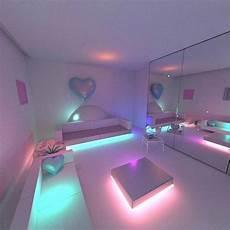 Bedroom Ideas Neon by Gloomyartist нσмє Habitaciones De Ensue 241 O