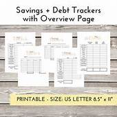 Debt Payoff Tracker Template  Pay Off I Credit Cards