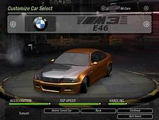 NFS Underground 2 Fast And Furious Original Parts Cars By