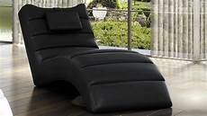 Chaise Longue Relax Fauteuil Simili Cuir Matelass 233 Huw