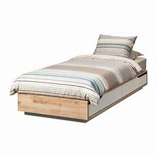 mandal bed frame with storage 90x200 cm ikea