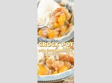 easiest crock pot fruit cobbler_image