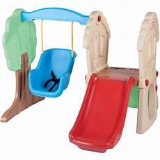 tike swing and slide tikes hide seek climber and swing ebay