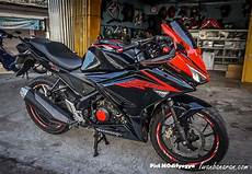 Modifikasi Honda Cbr 150 by Modifikasi Honda New Cb150r Menjadi New Cbr150r Wahhh