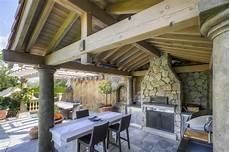 tuscan outdoor kitchen mediterranean patio vancouver