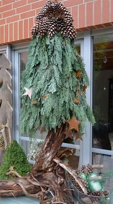 weihnachtsdeko aus naturmaterial selbstgemachter