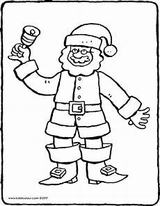 Malvorlagen Weihnachtsmann Text Weihnachtsmann Kiddimalseite