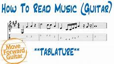 how to read music guitar tab standard notation youtube