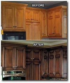 kitchen updates i love that they did a dark stain with an antique look instead of just painting