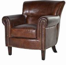 vintage brown leather armchair chairs