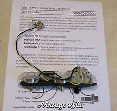 7 Way Tele Wiring by Tele 4 Way Upgrade Wiring Kit Pre Wired Pio Cap Cts Pots