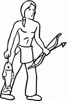 ausmalbilder indianer kanu tippsvorlage info