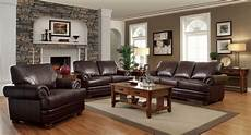 traditional stylish brown bonded sofa l s chair