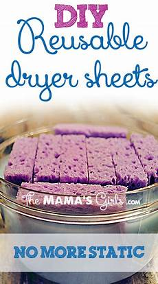 reusable dryer sheets with fabric softener diy