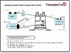 trombetta s plastic dc contactors produced with strong high temperature resistant housings and