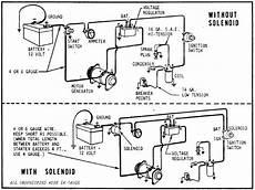 12 volt generator voltage regulator wiring wiring