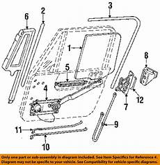 Jeep Chrysler Oem 91 95 Wrangler Front Door Lock Latch Kit
