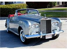 1963 Rolls Royce Silver Cloud Iii For Sale Classiccars