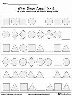 patterns shapes worksheets 241 early childhood math worksheets math activities pattern worksheet worksheets math