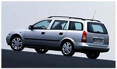Opel Astra G 1998 2009 Kombi Dane Techniczne