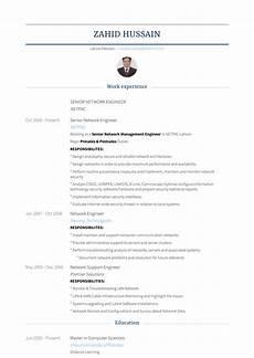 senior network engineer resume sles and templates