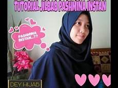 Tutorial Jilbab Pashmina Instan Dey
