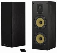 thonet vander koloss dual 6 5 quot 800w 2 way bluetooth speakers pair black koloss best buy