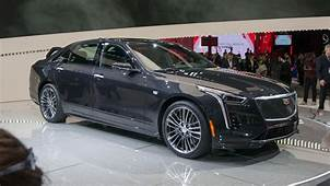 2019 Cadillac CT6 Adds V Sport Model With Twin Turbo V8