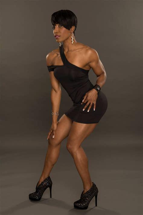 Ebony Fitness Nude