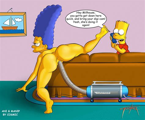 Marge Simpson Naked