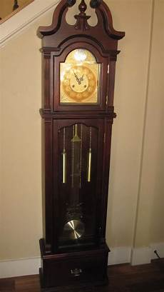 the turquoise piano grandfather clock makeover