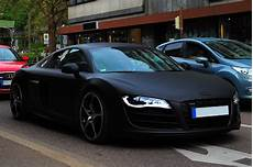 Car Matte Black Abt Audi R8 Wheels