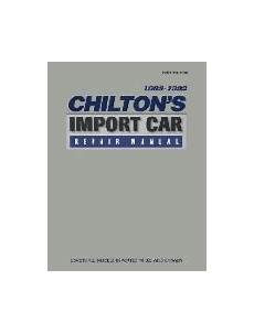 what is the best auto repair manual 1988 ford aerostar engine control 1988 1992 chilton s import auto repair manual