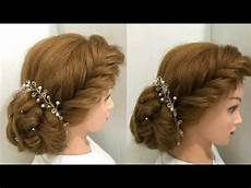 hairstyles for with hair for most beautiful hairstyles for wedding or function bun