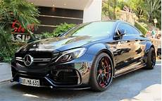 mercedes c63 amg coupe w205 wide kit