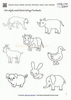worksheets animals of the farm 13984 farm animals coloring pages and activity sheets coloring home