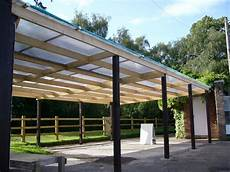 polycarbonate 10mm carport lean to roof with fixings 695mm wide sheets ebay