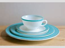 Turquoise Pyrex Dishes Vintage 1950s by KitchenCulinaria
