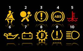 Car Warning Light Symbols Hyundai  Impre Media