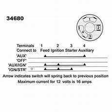 lucas ignition starter auxiliary switch 34680