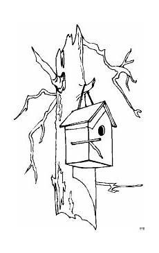 Malvorlagen Vogelhaus Gratis Vogelhaeuschen 2 Ausmalbild Malvorlage Tiere