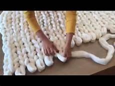 Comment Tricoter Une Couverture Grosse Maille