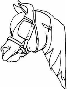 Malvorlage Pferd Comic Pferd Mit Geschirr Ausmalbild Malvorlage Comics