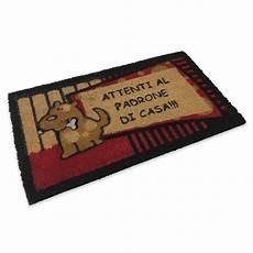 tappeto zerbino tappeto zerbino attenti al padrone di casa