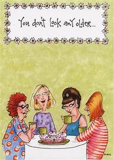 At Table Of Cupcakes Birthday Card By