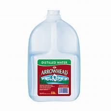 arrowhead distilled water 128 oz bottles of 6 by