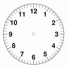 Uhr Malvorlagen Word Uhrzeit Lernen Grundschule Zifferblatt Ausdrucken