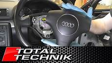 how does cars work 2002 audi s4 spare parts catalogs how to remove airbag audi a4 s4 b6 2000 2005 total technik youtube