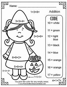2nd grade math addition coloring worksheet free color by numbers addition with three